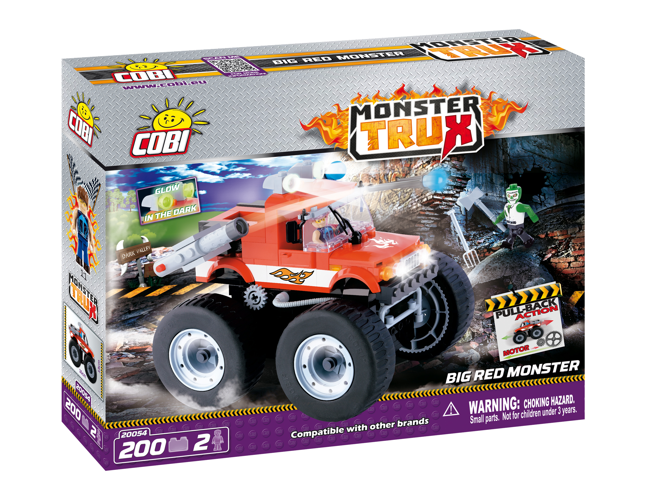 Monster Trux 280x55x220 null